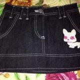 Новая джинсовая юбочка. Фото 1. Реутов.