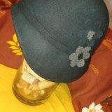 Фетровая женская шляпка. Фото 1.