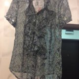 Блузка с коротким рукавом. Фото 3. Химки.
