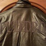 Кожаная куртка для мальчика фирмы puledro. Фото 3. Москва.