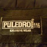 Кожаная куртка для мальчика фирмы puledro. Фото 4. Москва.