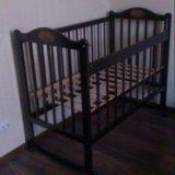 Продам детскую кроватку и отдельно матрас. Фото 1. Краснодар.