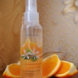 """Спрей для тела """"апельсиновый цвет"""". Фото 1."""