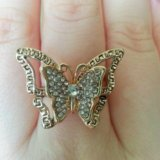 Кольцо-бабочка. Фото 1.