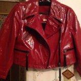 Кожаная куртка косуха replay оригинал. Фото 1. Санкт-Петербург.
