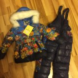 Новый зимний костюм для девочки. Фото 1.