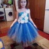 Платье туту из фатина. Фото 1.