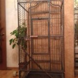 Большая клетка для птиц. Фото 1. Москва.