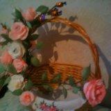 Подарочная корзина (букет из конфет). Фото 1.