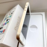Iphone 5 s gold. Фото 1.