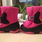 Зимние ботинки на девочку 20-21р. Фото 2.