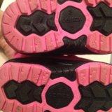 Зимние ботинки на девочку 20-21р. Фото 4.