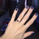 Серьги, кольцо серебрянные. Фото 3.