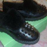 Зимние ботинки. Фото 2. Москва.