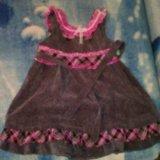 Вельветовое платье. Фото 1. Тверь.