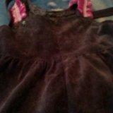 Вельветовое платье. Фото 2. Тверь.