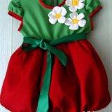 Новогодний костюм ягодки. Фото 1.