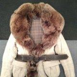 Куртка с мехом чернобурки. Фото 1. Санкт-Петербург.