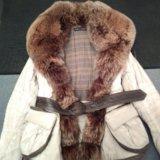 Куртка с мехом чернобурки. Фото 2. Санкт-Петербург.