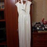 Вечернее белое платье. Фото 3.