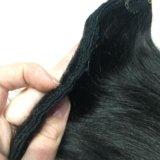 Натуральные волосы на заколках. Фото 2.