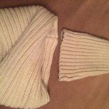 Шапка и шарф снуд  zara. Фото 1. Химки.