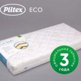 Матрас плитекс ecolife 119х60х12 новый в упаковке. Фото 1.