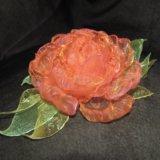 Отдам на реализацию цветы из ткани ручной работы. Фото 1. Ростов-на-Дону.