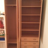 Шкаф с выдвижными ящиками и полками. Фото 2.