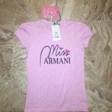 Новая футболка armani junior. Фото 1.