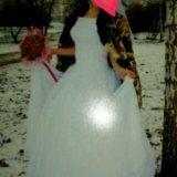 Отдам свадебное платье. Фото 1. Тамбов.