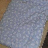 Одеяло детское силиконизированное волокно. Фото 1. Железнодорожный.