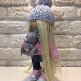 Интерьерная кукла ручной работы. Фото 3.