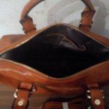 Новая рыжая сумка. Фото 1.