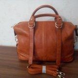 Новая рыжая сумка. Фото 4.