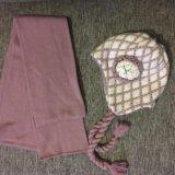 Комплект шапка и шарф. Фото 2. Самара.