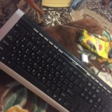 Клавиатура почти новая. Фото 1. Майкоп.