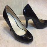 Новые лаковые туфли черные 37. Фото 1.