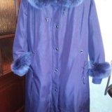Пальто зимне-осеннее(пихора). Фото 1.