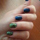 Маникюр, покрытие ногтей шелак. Фото 1.