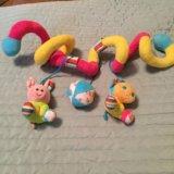 Развивающие погремушки-подвески. Фото 2. Химки.