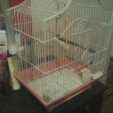 Клетка для папугаев гатов обменять на папугая. Фото 2. Санкт-Петербург.