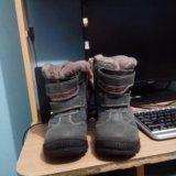 Ботинки зимние детские 32 размер можно 31,маломерк. Фото 2. Северская.