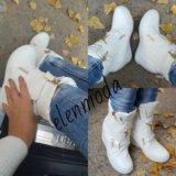 Ботиночки новые в наличии, зима 35,37. Фото 1. Батайск.