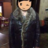 Продам мужскую кожаную куртку с мехом. Фото 2. Санкт-Петербург.