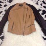 Куртка нат кожа. Фото 1. Солнечногорск.