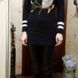 Туника с карманами,свитер сова. Фото 3. Москва.