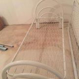 Кровать одноярусная стандарт. Фото 2. Мурино.
