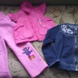 Вещи на девочку 3-5 лет. Фото 1.