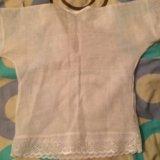 Крестильная рубашка новая. Фото 2. Щёлково.